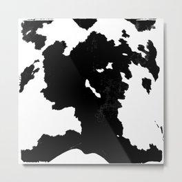 skins #1 Cow Metal Print