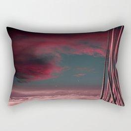 Morning at Planet One Rectangular Pillow