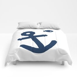 Anchor & Fish Comforters