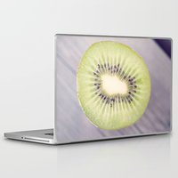 kiwi Laptop & iPad Skins featuring Kiwi by AvantiLouice