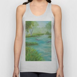 Little Manistee River MM120824a Unisex Tank Top