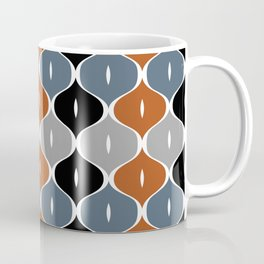 Colorful abstract eyelets pattern Coffee Mug