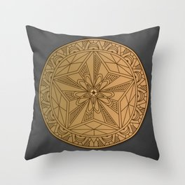 THE WANDERER'S MARK Throw Pillow