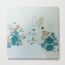 Hip Hop Honey Bunny Metal Print