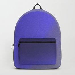 Ultra Violet Gray Grainy Grunge Abstract Minimal Pop Art Backpack