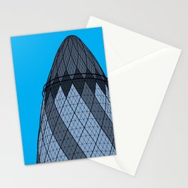 London Town - The Gherkin Stationery Cards