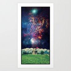 Croome Panoramic Tower Art Print