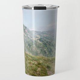 Hiker in the Pyrénées Travel Mug