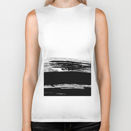 abstract b&w Biker Tank