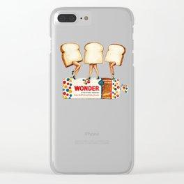 Wonder Women Clear iPhone Case