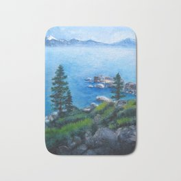 Lake Tahoe Lake of the Sky Bath Mat