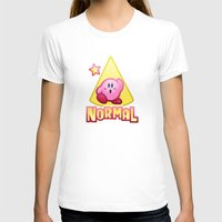 kirby T-shirts featuring Kirby Normal by likelikes