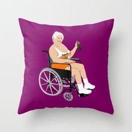 MILF Throw Pillow