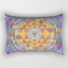 Actualize Sri yantra Rectangular Pillow