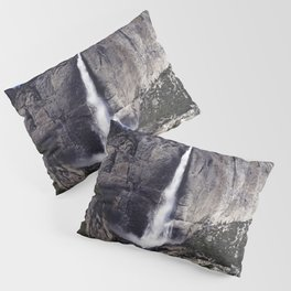 Spectacular Yosemite Falls Yosemite National Park Pillow Sham