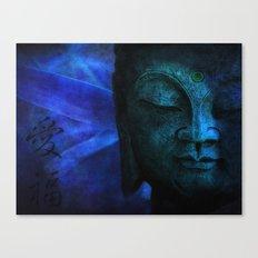 blue balance Canvas Print