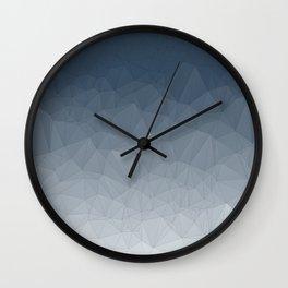 Light to dark gradient Wall Clock