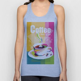 COFFEE - Color Of Life Unisex Tank Top