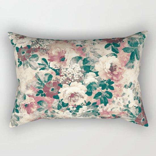 Quiet Garden Movement Rectangular Pillow