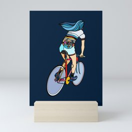 Fixie Girl Mini Art Print
