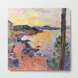 Henri Matisse Gulf of Saint Tropez Metal Print
