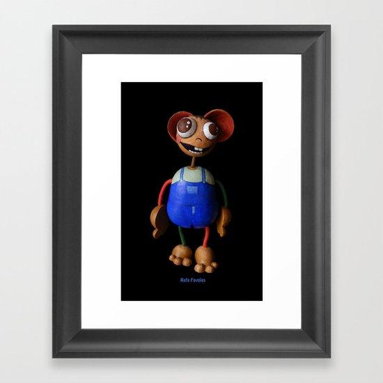 Rafa Favolas Framed Art Print