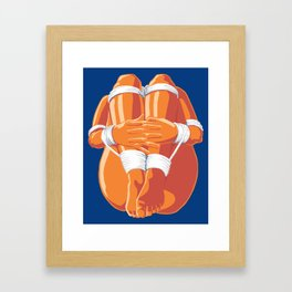 Bondage Bundle Framed Art Print