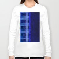 led zeppelin Long Sleeve T-shirts featuring led blue by Fringed violet