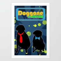 Doggone Review Art Print