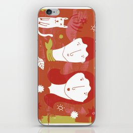 girls iPhone Skin