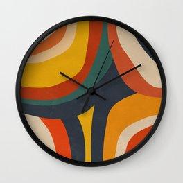 Feeling Retro Wall Clock