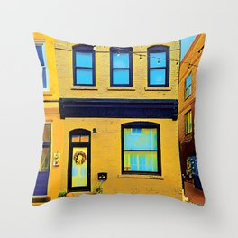 Hometown Street Throw Pillow