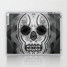 White skull Laptop & iPad Skin
