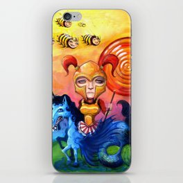 The Candy Warrior iPhone Skin