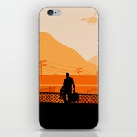 grand theft auto iPhone & iPod Skins featuring Grand Theft Auto: Trevor by mcsjackson