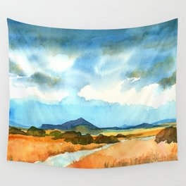 New Mexico Blue Wall Tapestry