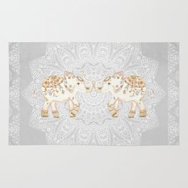 ALHAMBRA ELEPHANT GREY by Monika Strigel Rug