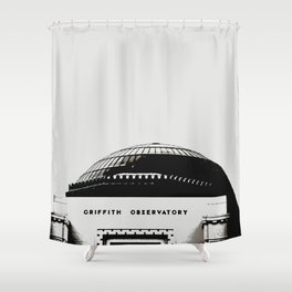Griffith Observatory LA Shower Curtain