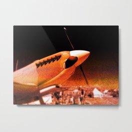 Achtung Spitfire! Metal Print
