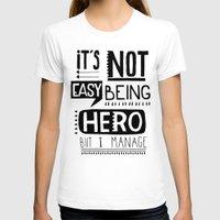hero T-shirts featuring hero by ulas okuyucu