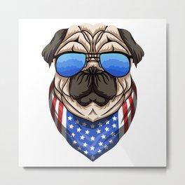 American Dog ! Metal Print
