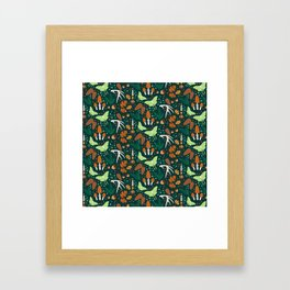 Nordic Forest Framed Art Print