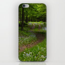 Forget-me-not Trail iPhone Skin