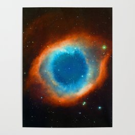 Eye Of God - Helix Nebula Poster