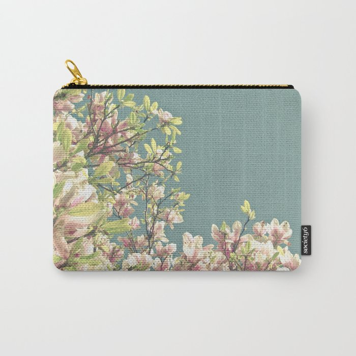 Magnolia in Bloom Carry-All Pouch