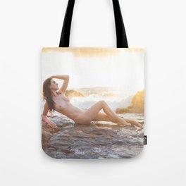 Sunset Siren Tote Bag