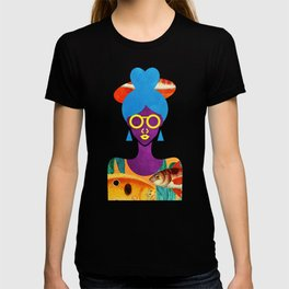 Girl with Sea Monster Shirt T-shirt