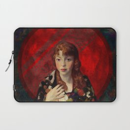 Red and Fair Laptop Sleeve