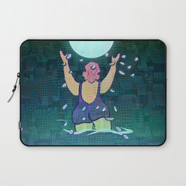 Bathing somewhere under the Moon Laptop Sleeve