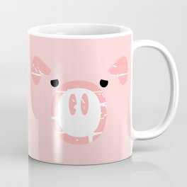 Cute Pink Pig face Coffee Mug